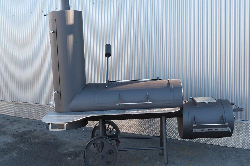 Unser BBQ Smoker Grill für die große Grillfeiern und die Gastronomie