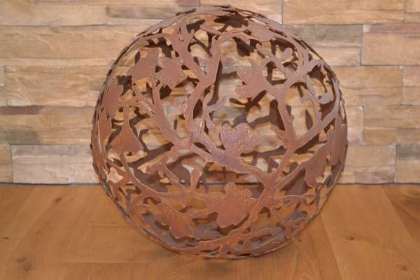 Dekokugel Magnolienkugel dm=50cm Rost Ga #235