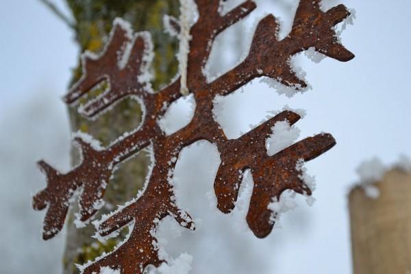Schneeflocke zum Hängen #275