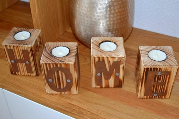"""Teelichthalter """"Wuerfel-Home"""" #360"""