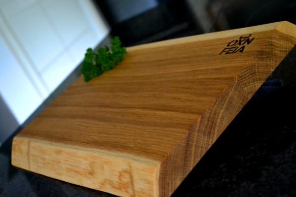 OXNFEIA® Steakbrett aus Eichenholz