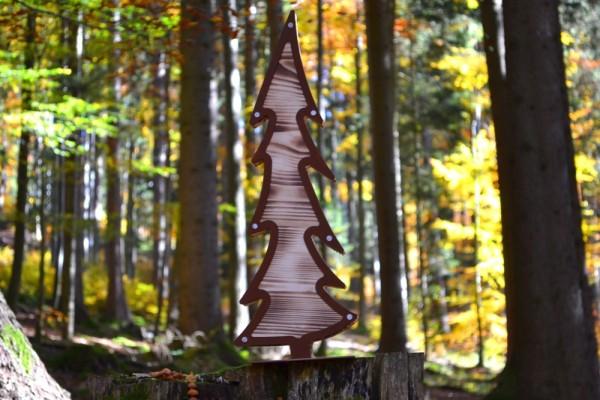 Grosser Tannenbaum Holz #362