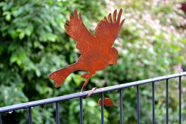 Rostdeko Astvogel fliegender Vogel #384