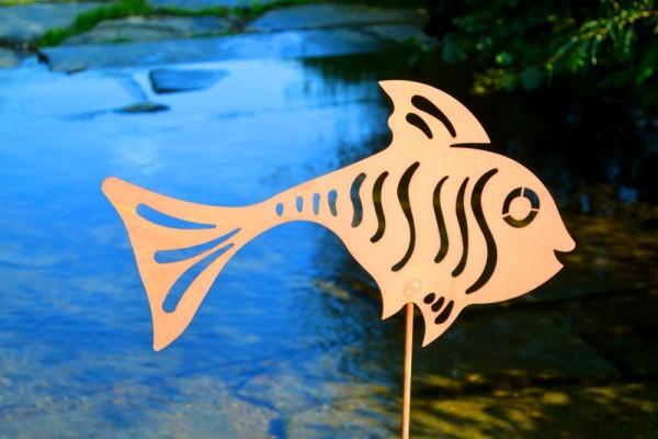 Rostdeko Gartenstab Fisch #393