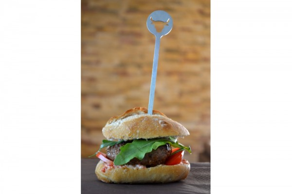 OXNFEIA® Burgerspiesse 4 Stueck #439